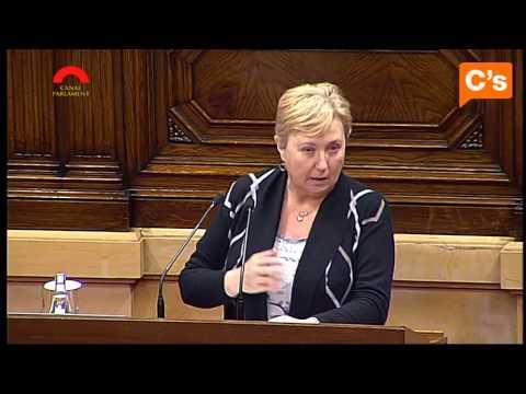 C's - Carme Perez alerta de que Idescat no publica datos de mortalidad global de 2013 en Cataluña