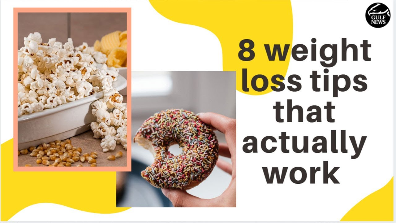 8 weight loss tips that actually work