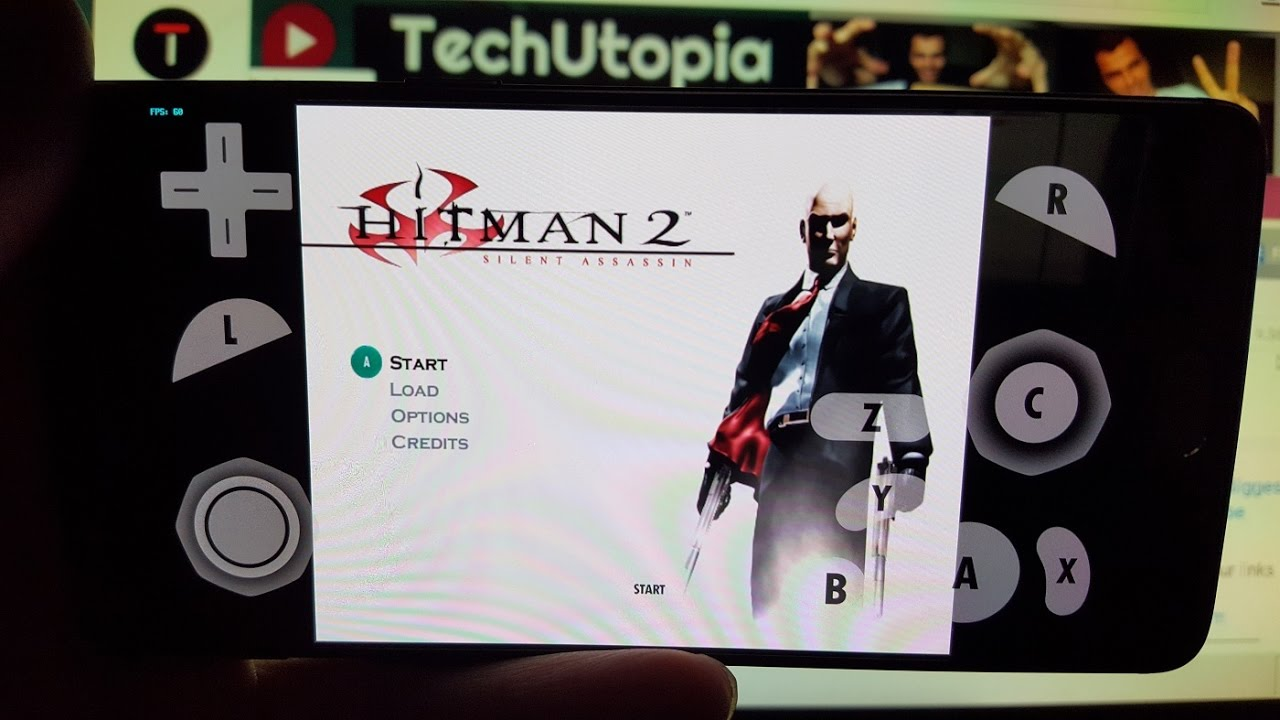 Playing Hitman 2 Silent Assassin On Android Smartphone Dolphin
