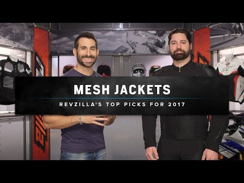 Best Mesh Motorcycle Jackets 2017 at RevZilla.com