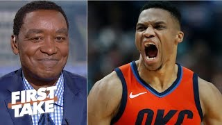 Russell Westbrook is an MVP, but clearly not a championship player - Isiah Thomas - First Take