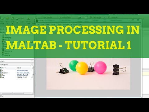Image Processing in MATLAB Tutorial 1 - Acquisition and Disp