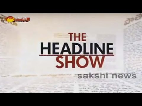 Heavy Cross winds effects in Hyderabad || The Headline Show 22nd May 2016