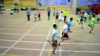 Финал на 60 м Юноши 1