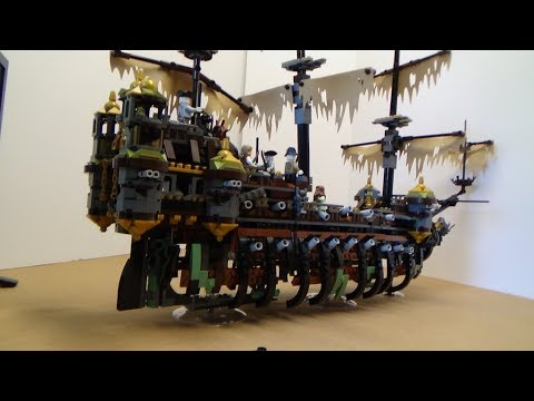 Lego Pirates of the Caribbean: Dead Men Tell No Tales.  Silent Mary