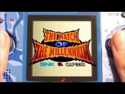 SNK vs. Capcom - Partida completa comentada - NeoGeo Pocket