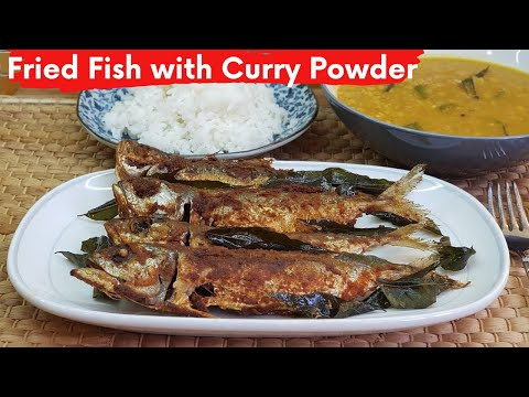 Simple Fried Fish With Curry Powder