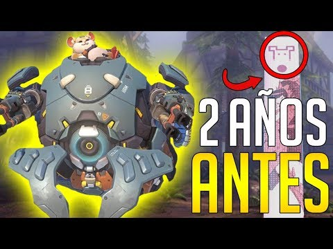 OVERWATCH: CURIOSIDAD HAMMOND | WRECKING BALL YA ESTABA EN LA BETA! Sr Jambo thumbnail