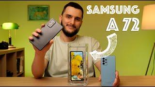 Всё о Samsung A72. Сравнение Самсунг А 72 vs Самсунг А 52 // samsung galaxy a72