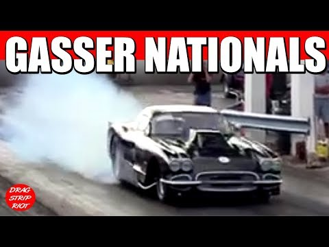 2013 Gasser Nationals Quick 8 1 Gassers Dragsters Eliminations Nostalgia Drag Racing Videos