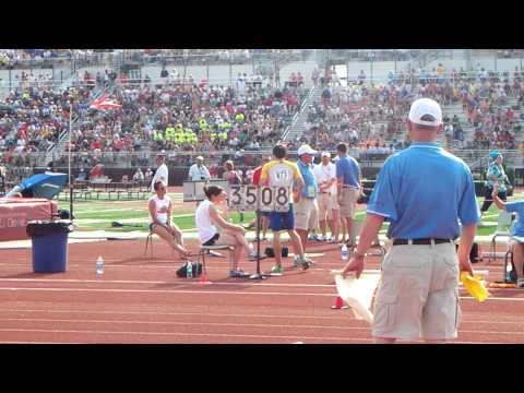 Chris Haase Track STATE 2011 2nd jump school record