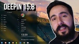 UM LINUX PRA OUTROS  COPIAREM - DEEPIN 15.8 - REVIEW