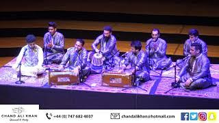 Kivein Mukhre Ton Nazaran Hatawan | Chand Ali Khan Qawwal & Party UK | Qawwali Live Tour 2020 |Cover