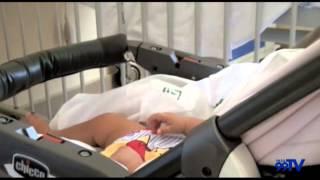 Bambina abbandonata nell' ospedale di San Severo, buone le condizioni di salute