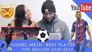This Is Why Lionel Messi Is The Best Player Of The Season 2018/19 - HD|REACTION