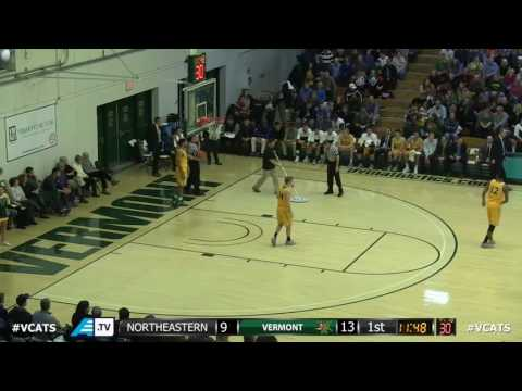 Alex Murphy vs Vermont, Black #0, 21 pts (9-12 FG)