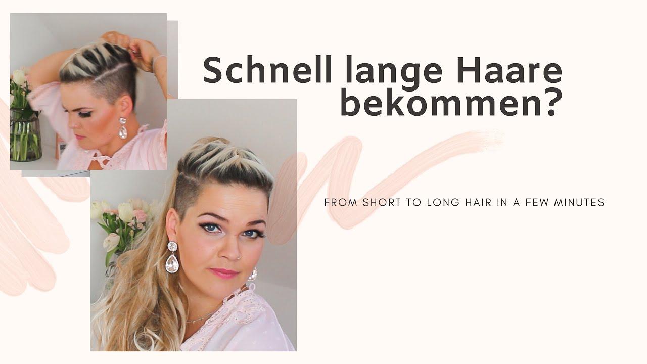 Wie Bekommt Man Schnell Lange Haare