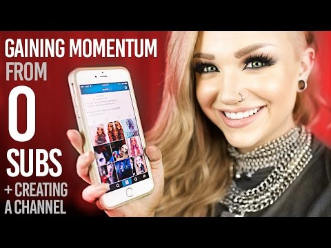 How To Get Started on Youtube & Other Social Media -- GAINING MOMENTUM FROM ZERO SUBS & BRANDING