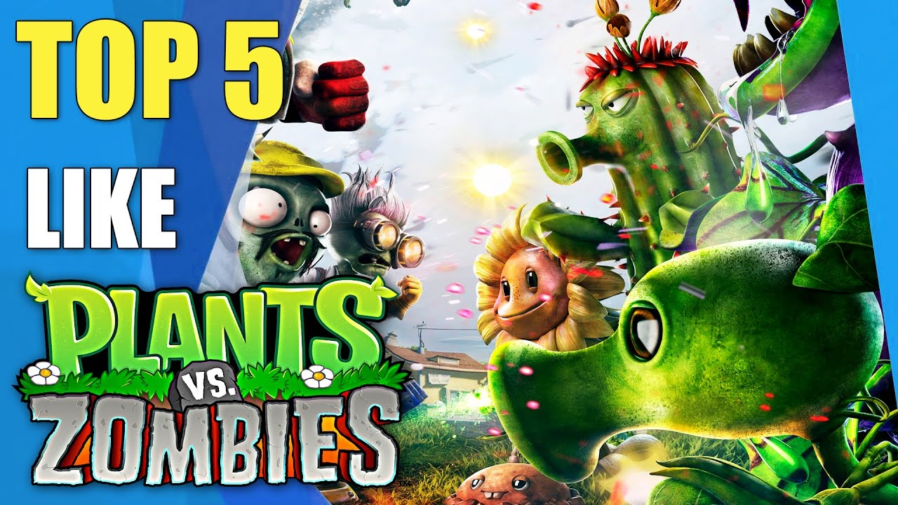 Top 5 games like Plants vs Zombies | Similar games to Plants vs ...