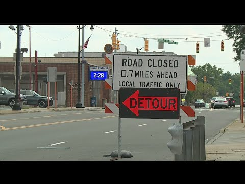 Route 46 closed
