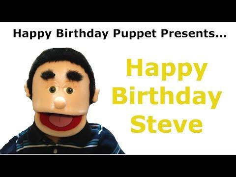 Funny Happy Birthday Steve - Dog Attack/Dog Bite - Birthday Song