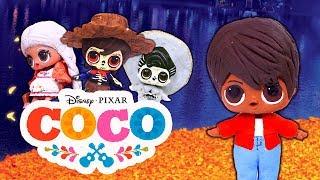 COCO Película en Español con MUÑECAS LOL Sorpresa 💀 - Juguetes Fantásticos
