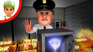 Animation for Children - Police & Thief - A trap with a diamond - Kids Cartoon Videos