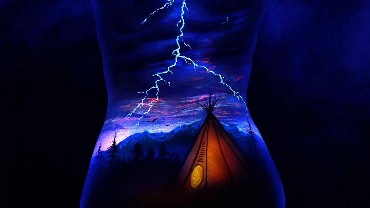 UV Body Painting -