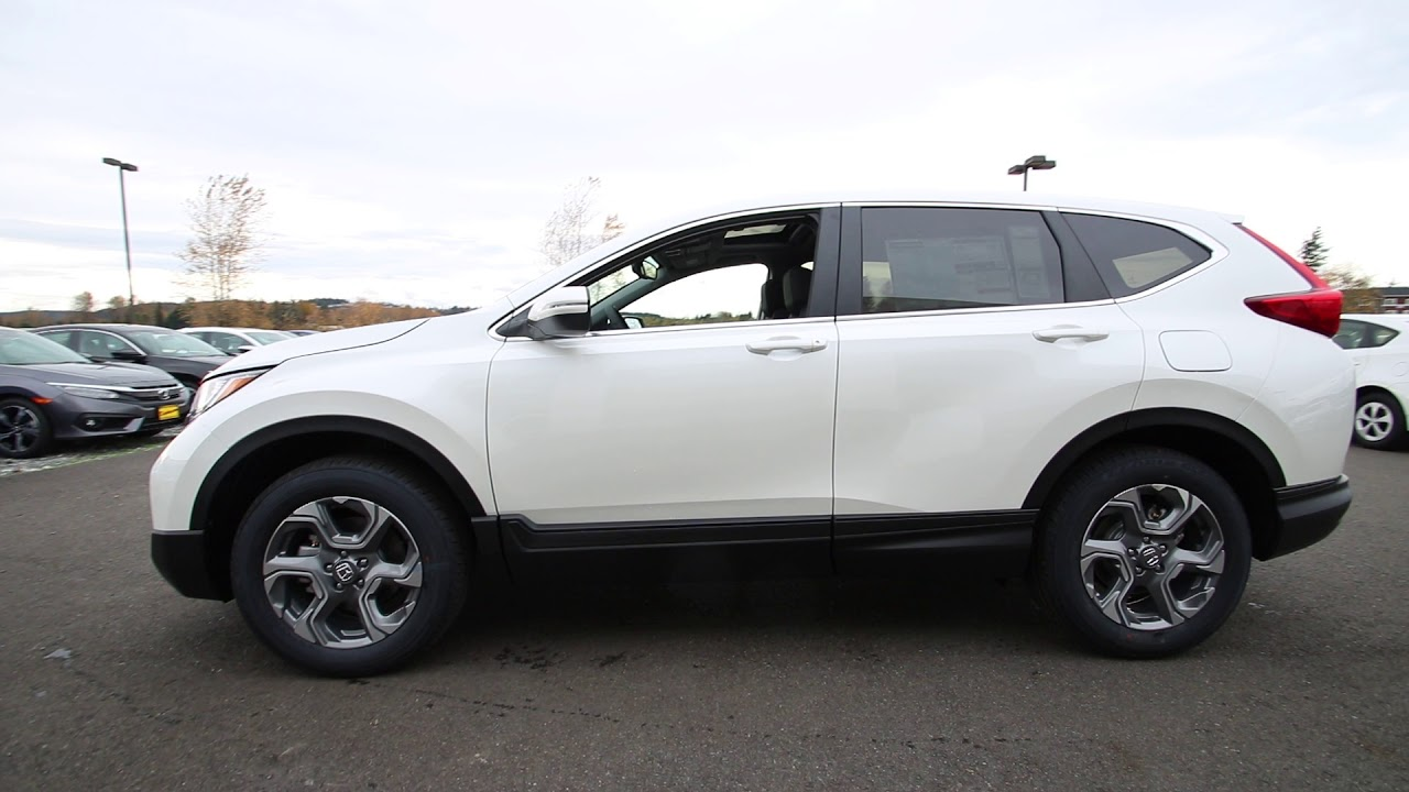 2018 honda white. 2018 honda cr-v ex-l | white diamond pearl jh605192 seattle sumner a