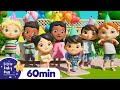 Happy Birthday   Nursery Rhymes with Subtitles