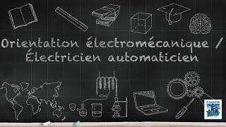 Option Electromécanique - Electricien Automaticien - Collège Saint-Augustin