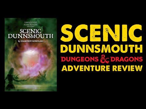 Scenic Dunnsmouth: OSR Horror Adventure Review