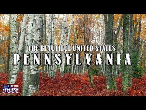 USA Pennsylvania State Symbols/Beautiful Places/Song PENNSYLVANIA w/lyrics
