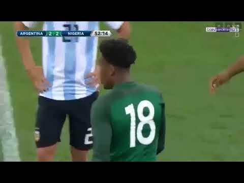 Nigeria Vs Argentina Friendly 14/11/2017