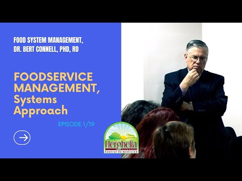 01. Systems Approach to Foodservice Management p1