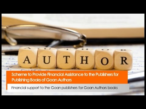 Scheme to Provide Financial Assistance to the Publishers for Publishing Books of Goan Authors