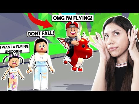 I BOUGHT MY SPOILED SON A FLYING PET SO HE COULD RIDE IT in ADOPT ME! - ROBLOX - Adopt Me UPDATE