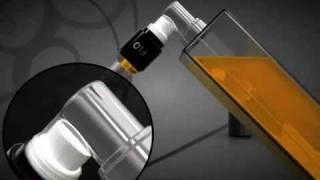 iSprej.cz - revoluční plnitelný flakón na parfém FLO - ukázka plnění.