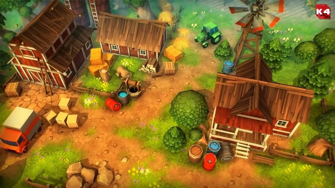 Unity Asset Store Pack - Cartoon Town and Farm environment (Download link  in description)