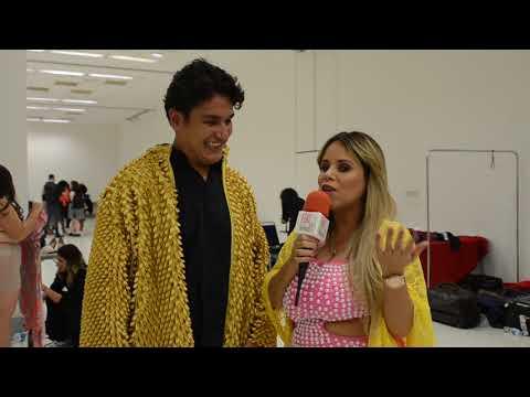 Apresentadora Viviane Alves entrevista o Digital Influencer Samuel Aguiar