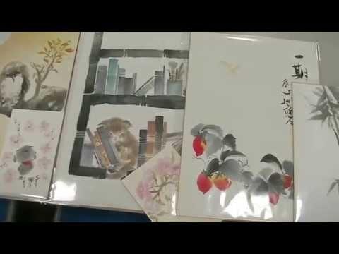Morimoto_Yuko  Ink wash painting, calligrapher 盛本 悠湖 水墨画・書道家