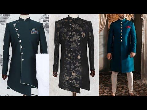 Wedding Style Sherwani For Men 2019-20 Design | Designer Sherwani Ideas | Sherwani Design 2019-20
