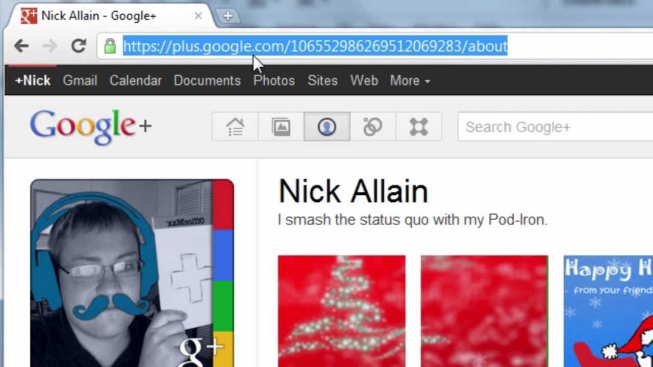 Tutorial animated google profile pictures scrapbook animation