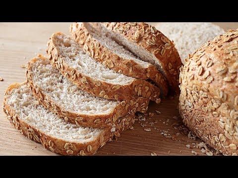 Receta De Pan De Avena Casero Magnífico Sub Oatmeal Bread Youtube