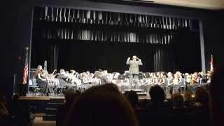 West Boca High's Vanguard Symphonic Band: Torrents