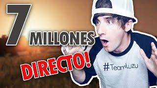 Video de 7 MILLONES EN DIRECTO! #7MillonesLuzuGames
