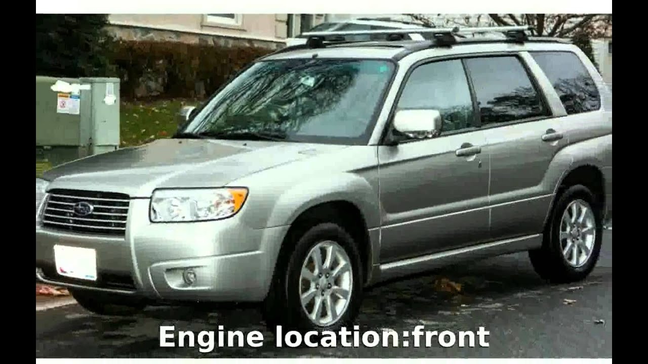 2007 subaru forester 2 0 x trend details