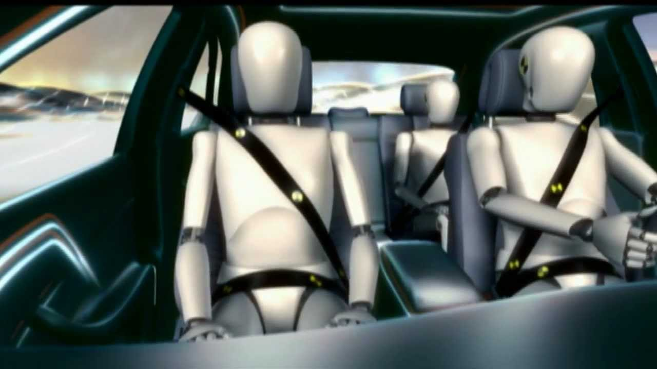 Air Bags And Seatbelts Mercedes Benz Driving Safety Features