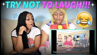TRY NOT TO LAUGH!!! (Seth Macfarlane's Cavaclade Of Cartoon Comedy)!!