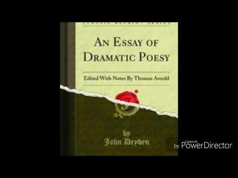 Synthesis Essay Ideas Rhyme As A Convention In Drama As Believed By Dryden In An Essay On Dramatic  Poesy How To Write A Good Proposal Essay also Good Essay Topics For High School Rhyme As A Convention In Drama As Believed By Dryden In An Essay On  Analysis Essay Thesis